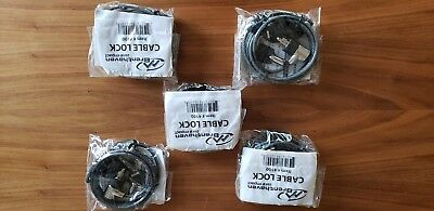 Brenthaven 4100 Computer Lock - Steel Cable - Brand New