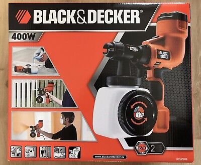 Black and Decker HVLP200 Hand Held Fine Spray Paint System - New, Sealed