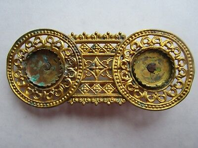 Turkey Ottoman Empire - rare gilded bronze buckle late 18th, early 19th century!