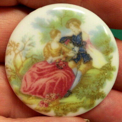 Vintage Fragonard Cameo - Old New Stock Never Used - Unmounted flat back 1950's