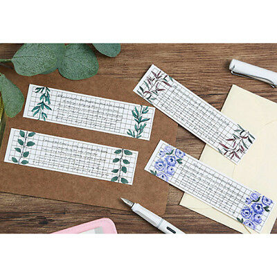 30pcs Colorful Paper Flower Bookmarks Cute Bookmark Book Marker Stationery S