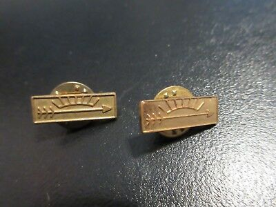 Vintage Lot of 2 Boy Scout Arrow of Light Lapel Tack Pins