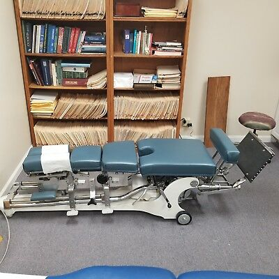Zenith Hilo Hylo Chiropractic Table Cervical/Thoracic/Lumbar/Pelvic Drops