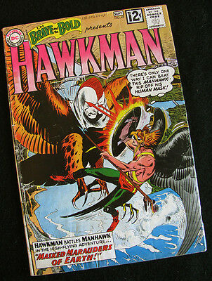 Brave And The Bold #43 (Dc 1962) Hawkman! 1St Appearance Man-Hawks! See Photos!