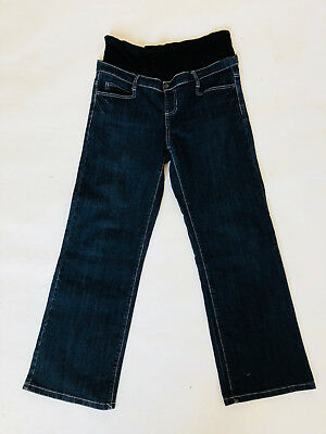 STOCK CLEARANCE Ripe Maternity Wide Leg Jeans (Size L)