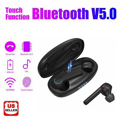 Wireless TWS Mini True Bluetooth Twins Stereo In-Ear Earphone Headset Earbuds