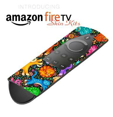 Skin Decal Wrap Amazon Fire TV Stick case Remote 2ND GEN Vinyl cover Cats