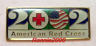 2002  WHAT YEAR DID YOU START  American Red Cross pin  REDUCED!!!