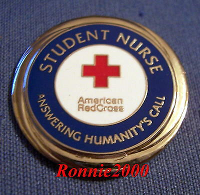 STUDENT NURSE, ANSWERING HUMANITY'S CALL  American Red Cross pin  LAST ONE!!
