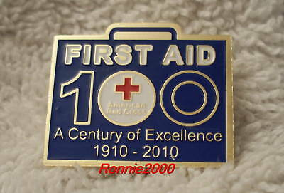 FIRST AID CENTURY OF EXCELLENCE  American Red Cross pin REDUCED!