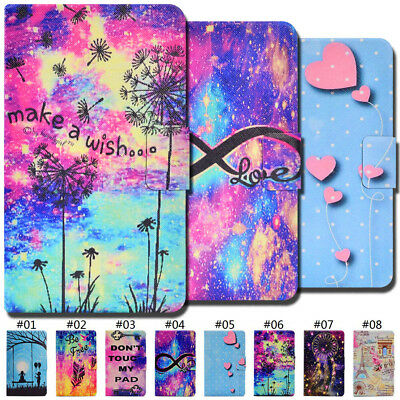 Fashion PU Leather Smart Wake/Sleep Flip Stand Case Cover For Samsung Galaxy Tab