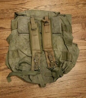 A Genuine US Medium Alice Pack With Shoulder Straps LC-2 OD Green FREE SHIPPING