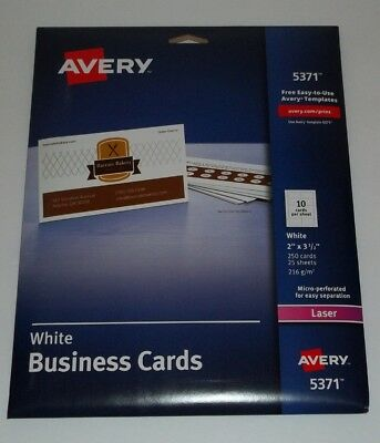 NEW Avery 5371 Business Cards # 799