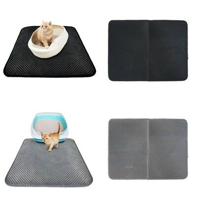 Waterproof Double-Layer Cat Litter Mat Trapper Foldable Pad ,Pet Litter Shovel