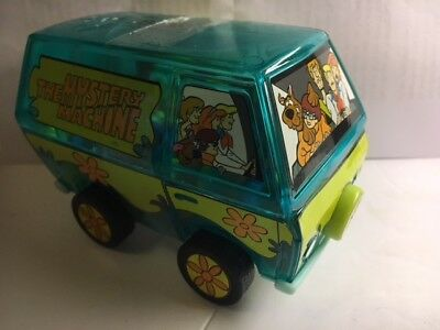 Scooby-Doo The Mystery Machine Candy Bank with Scooby Snacks DO NOT EAT! 2000