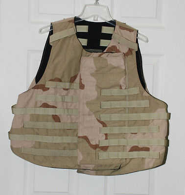 Replacement Dcu Base Vest Carrier Outershell Large L Airsoft