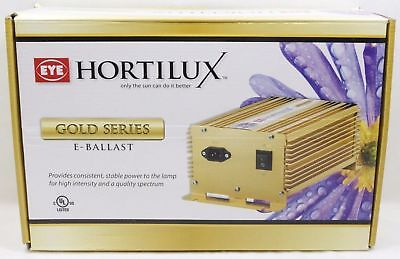 NEW! Eye Hortilux Gold Series E Ballast 120/240V HPS MH Digital 1000W