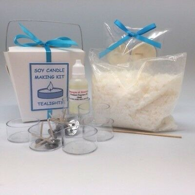 Tealight Soy Candle Making Kit - Free postage