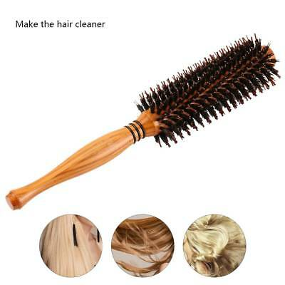 Round Pure Boar Bristle Hair Brush Classic Style Professional STOCKED ALL SIZES