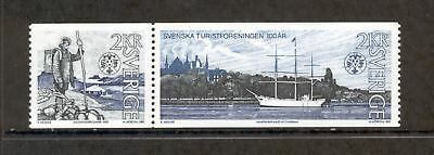 Sweden  1985  Cent. Touring Club, MNH.