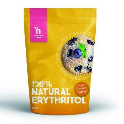 Naturally Sweet 100% Natural Erythritol Non-GMO Sweetener Sugar Substitute 500g