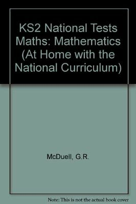 KS2 National Tests Maths: Mathematics (At Home with the National Curriculum)-G.