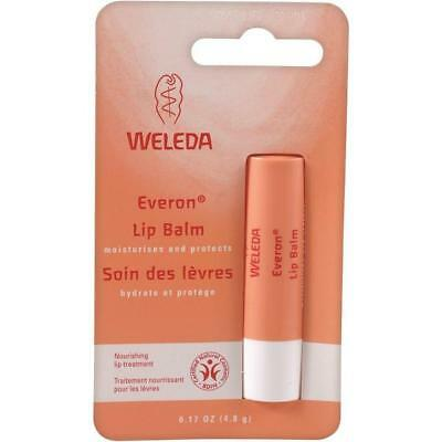 Weleda Lip Balm Natural Jojoba Organic Shea Beeswax Stick Gloss Everon 4.8g