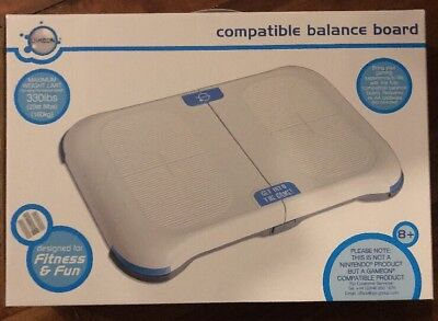 GameOn Nintento Wii Fit Compatible Balance Board Brand New FREE POSTAGE