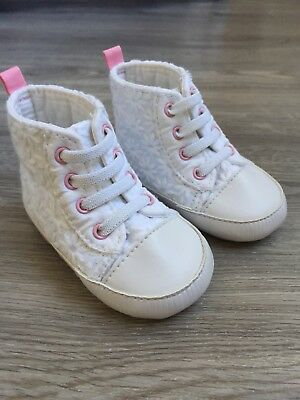 Brand new!! Baby Girl Mothercare Pram Shoes. Size 0