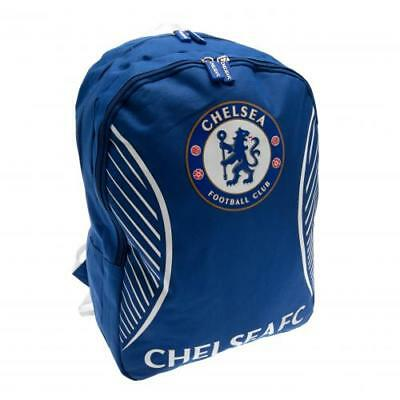 Official Chelsea School Backpack Bag Rucksack. Chelsea FC Football Club Gift