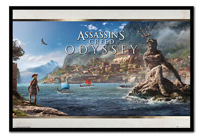 Assassin/'s Creed Odyssey Alexios Gaming Poster Plakat 91x61cm #117227