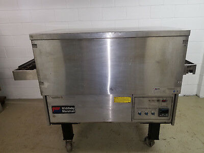 Middelby Marshall PS314-4 Natural Gas Conveyor Pizza Oven Tested
