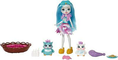 Enchantimals Sleepover Night Owl Dolls. Cute Gift for Young Girl