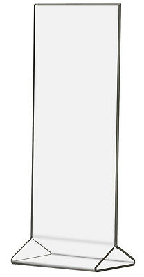Ad Frame Double sided Table Sign Holder Table or Counter Premium Acrylic