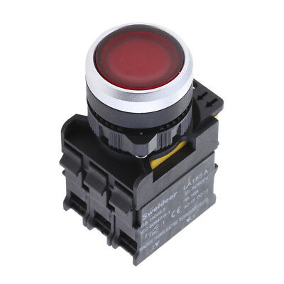 2er Pack LA38 11 Ui 660V 10A 22mm Taste Momentary Push Button Switch 1NO 1Ö
