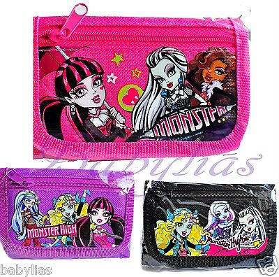 coin Purse tri-fold Brandnew Hannah Montana Miley Cyrus girls kids Wallet