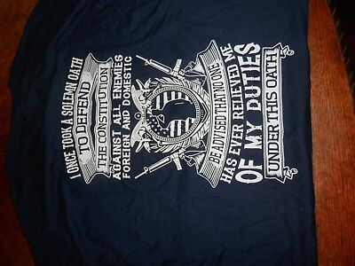 8ec965045b VETERAN BY CHOICE T-Shirt- 7.62 Design Men's Dark Blue Tee Shirt ...