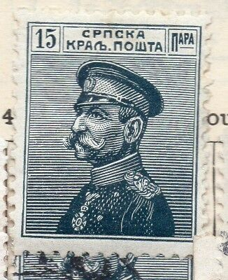 Serbia 1914 Early Issue Fine Mint Hinged 15pa. 265420