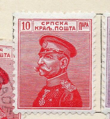 Serbia 1911 Early Issue Fine Mint Hinged 10pa. 265411