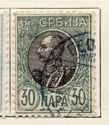 Serbia 1904-05 Early Issue Fine Used 30pa. 265406
