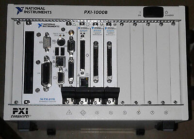 National Instruments PXI-1000B with embedded 8176, includes 8210, 6115 x2!