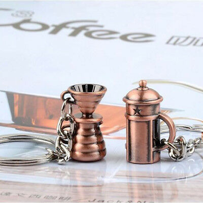 Various Coffee Accessories Keychain Key Chain Key Ring Holder Gift Fashion