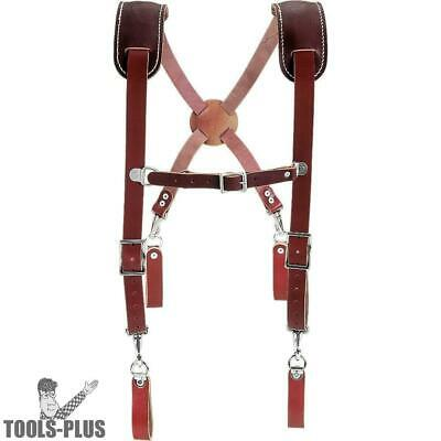 Occidental Leather 5009 Leather Work Suspenders New