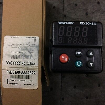 Watlow Pm6C1Ak-Aaaabaa Temperature Controller * New In Box * Ez Zone
