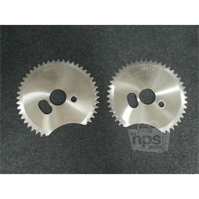 Pack of 2 Jarvis 3023011 Pneumatic Dehider Replacement Blades 110mm