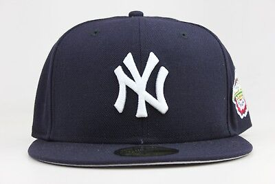 New York Yankees Navy 2001 World Series Side Patch New Era 59Fifty Fitted Hat