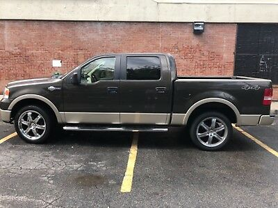 2008 Ford F-150 King ranch crew cab 4 door 2008 Ford F-150 king ranch crew cab pick up 4 doors brown back up camera