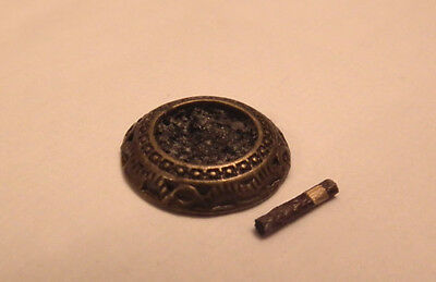 1/12 Dolls House miniature Ashtray & Cigar Handmade Lounge Pub Study Shop LGW
