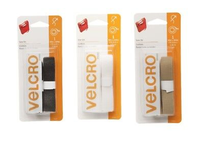 """Velcro Sew On 30"""" x 3/4"""" Strip Fastener Tape Hook & Loop SELECT YOUR COLOR!"""
