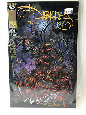 The Darkness (1996) #8 Signed x3 no COA David Wohl Image Top Cow